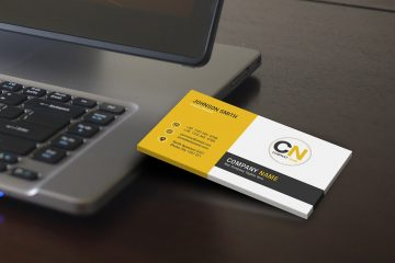Free Business Card Photoshop Template