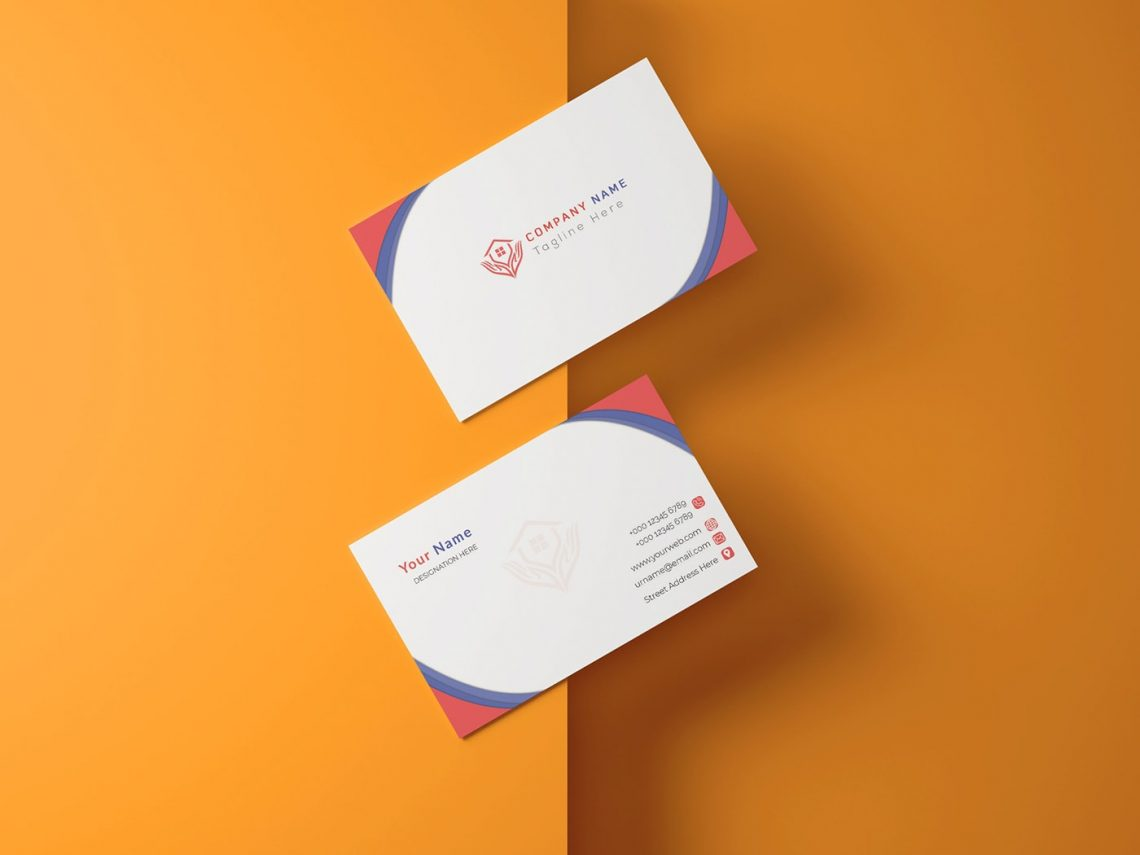 Free Business Card Corporate PSD Template