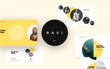 Free Ravi Presentation Template