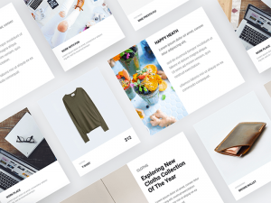 Freebie Material Design Product Cards for Sketch