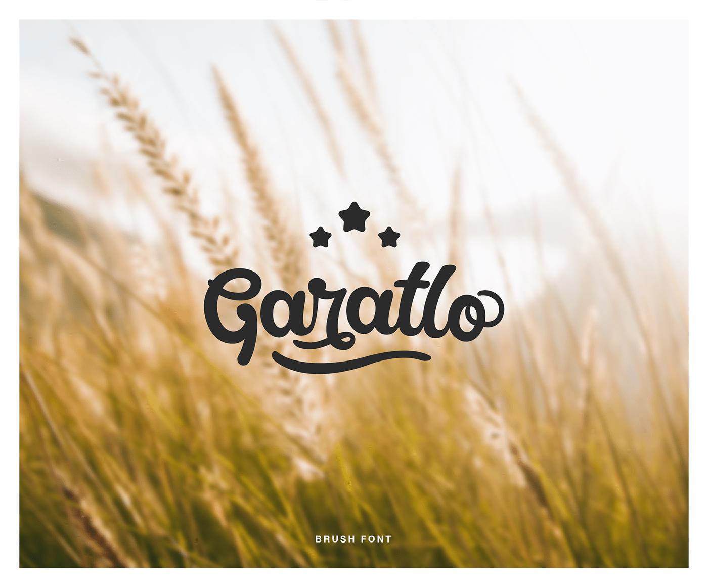 Free Garatlo Script Font