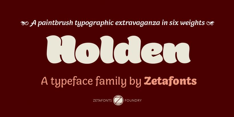 Holden – Free Font