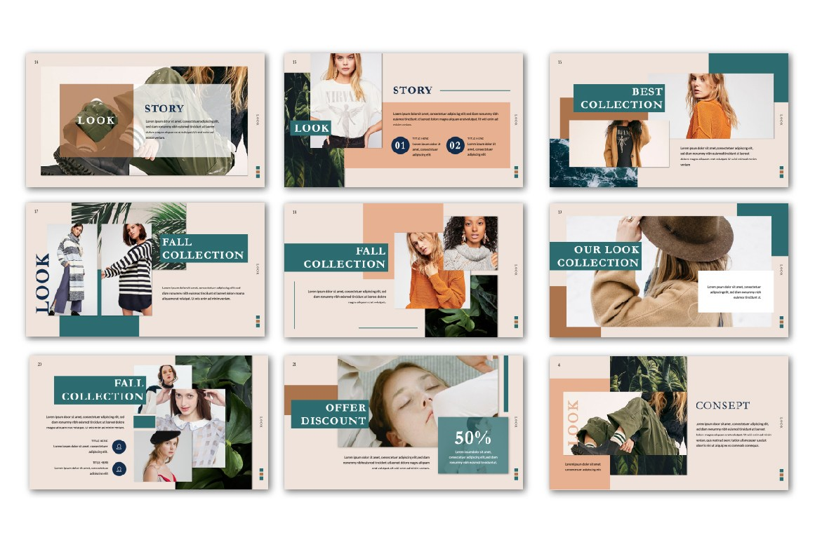 Look PowerPoint Free Presentation Template