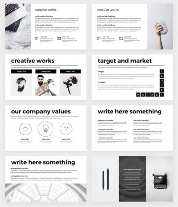 Minimal PowerPoint Free Template