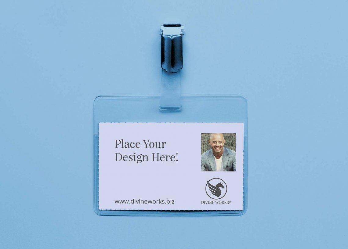 Simple Card Holder Free Mockup
