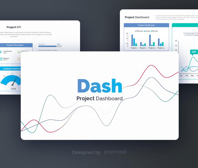 Dashboard Free Powerpoint Presentation Template