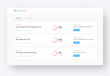 Free UX Design Course Portal