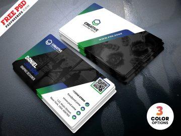 Free PSD Business Card Design Template