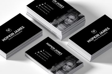 Free Corporate Photography Business Card Template