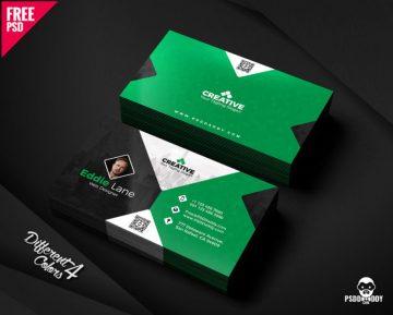 Free Business Card Design Templates Bundle