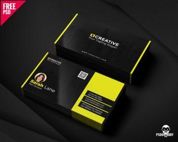 Free Creative Business Card PSD