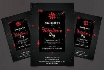 Valentine's Day Grand Open - Premium Flyer