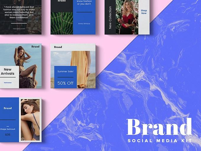 Free Brand Instagram Templates