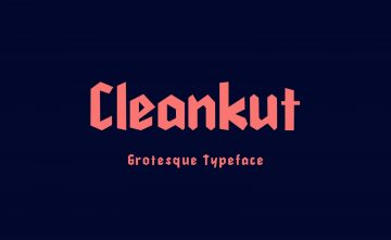 Free Cleankut Grotesque Typeface Font