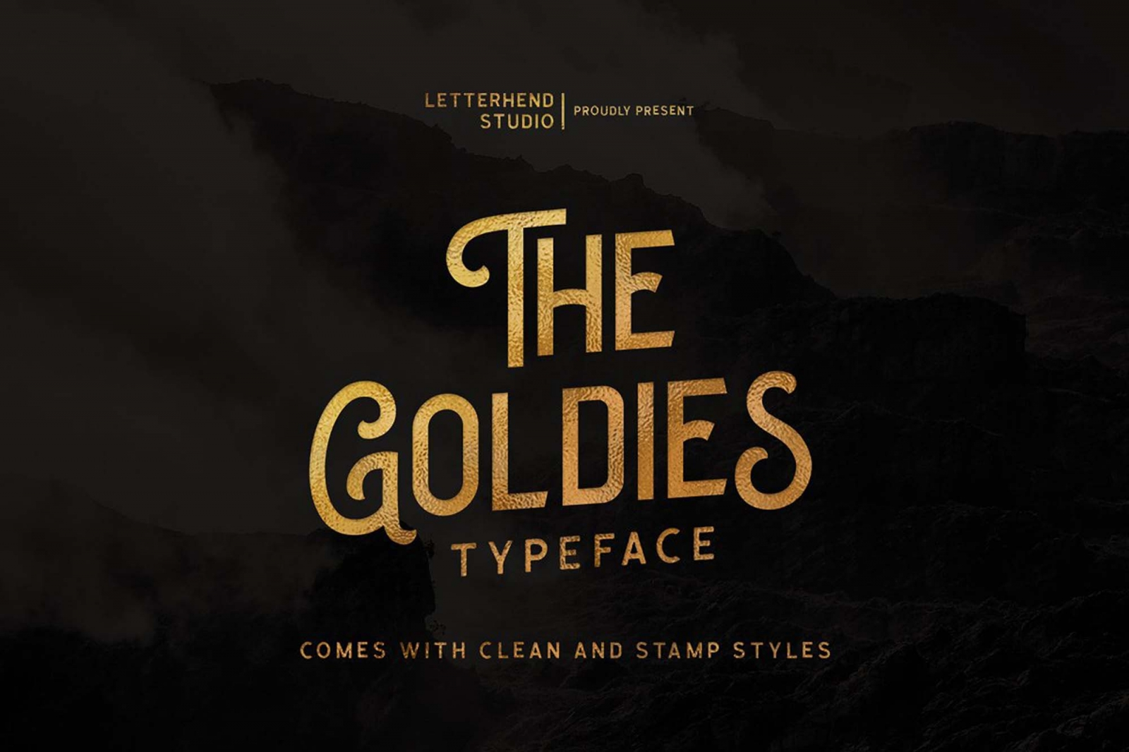 Free The Goldies Font