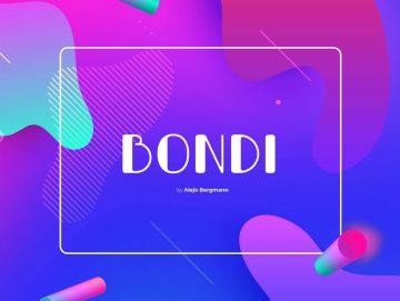 Free Bondi Font