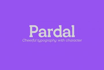 Free Pardal Family Font