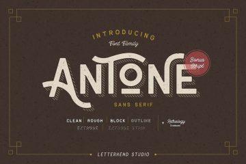 Free Antone Family Font