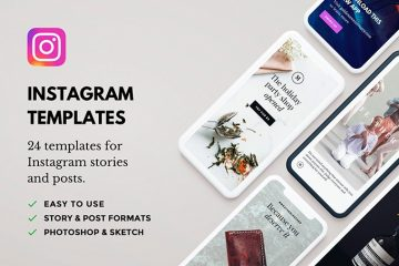 Free 24 Instagram Templates