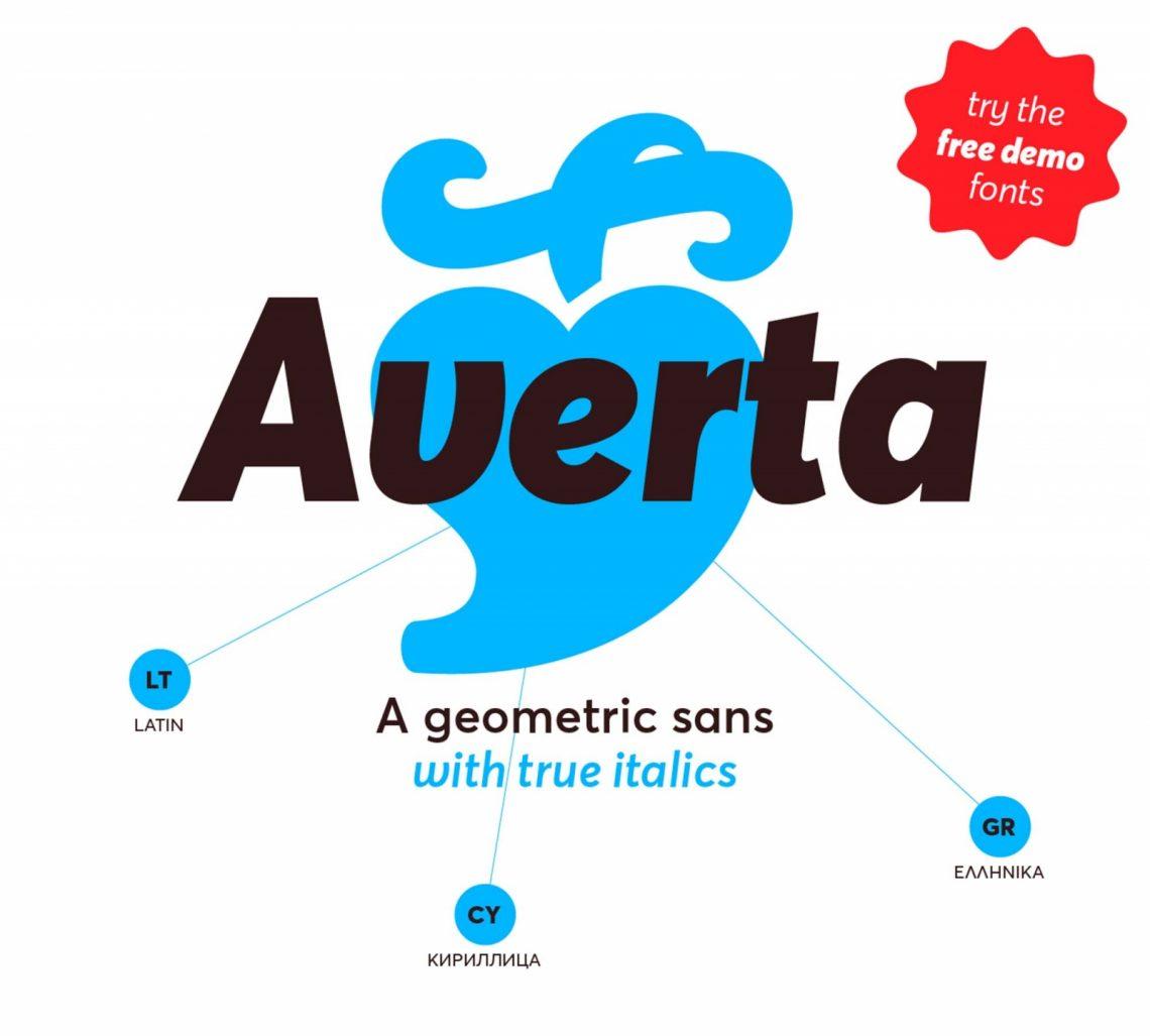 Free Averta Type Family Font.