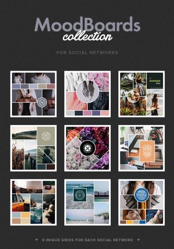 Free Social Mood Board Templates