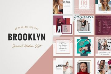 Free Brooklyn Instagram Templates