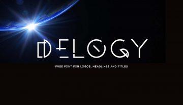 Free Delogy Font