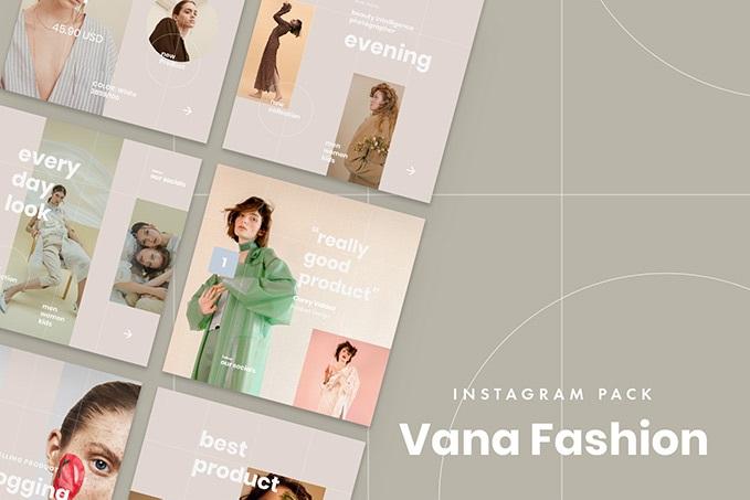 Free Vana Fashion Instagram Pack