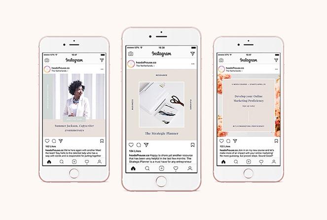 Free Hepburn Instagram Templates Kit