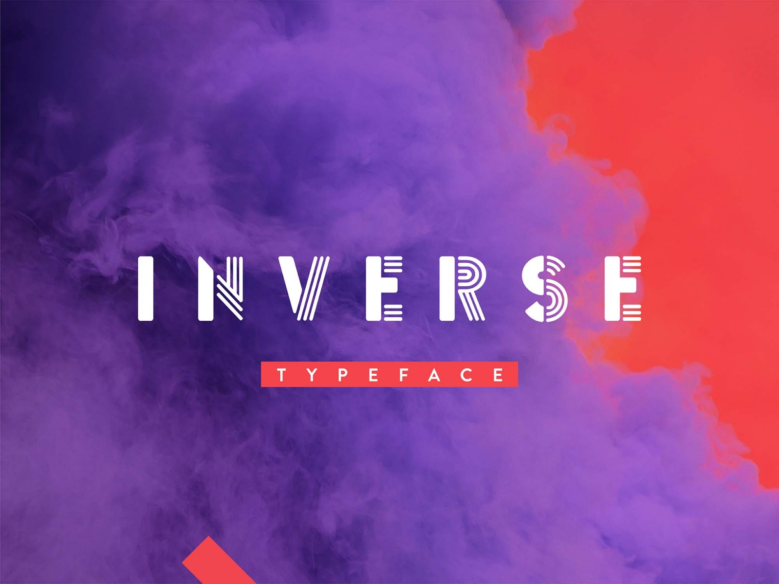 Free Inverse Display Font.