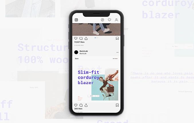 Free Coro Instagram Templates
