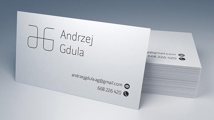 Free Business Card Mockup.