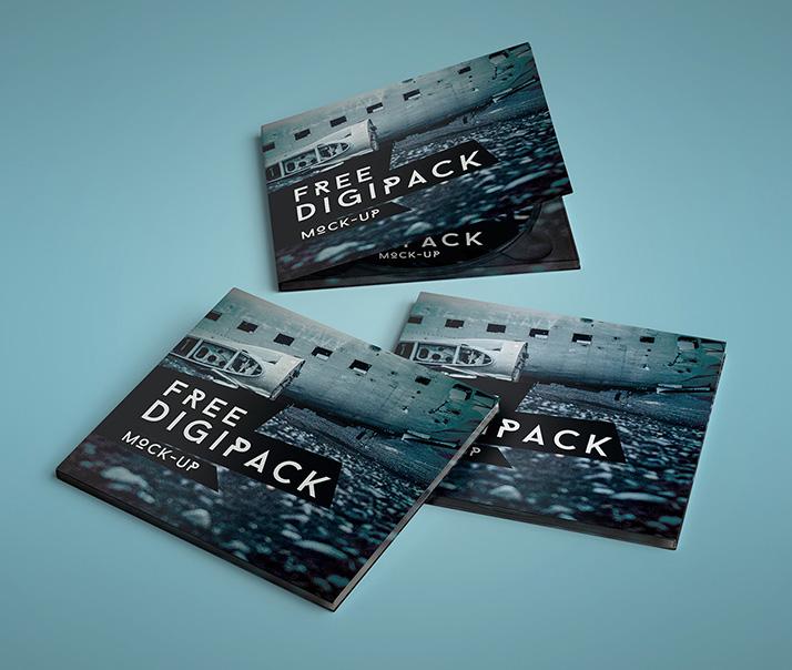 Free Digipack Mockup.