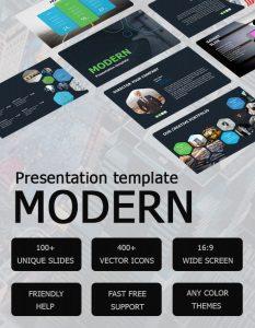 Free Modern Presentation Template.