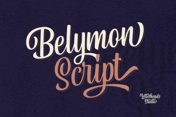 Free Belymon Script Font