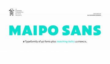 Free Maipo Sans Font Family