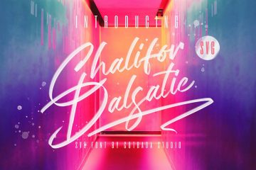 Free Chalifor Dalsatic Script Font