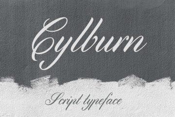Cylburn Free Script Font
