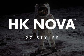 Free HK Nova Sans Serif Typeface Font