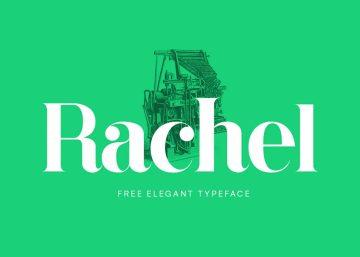 Free Rachel Serif Typeface Font