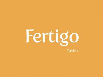 Free Fertigo Font