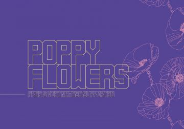 Free Poppy Flowers Typeface Font