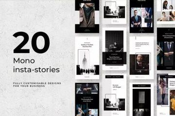 Free Mono Instagram Stories
