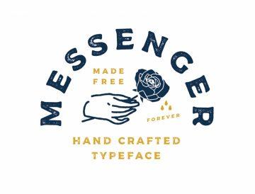 Messenger Free Commercial Font