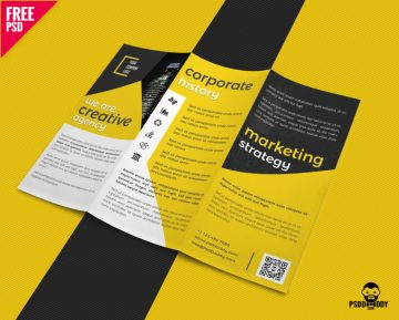 Free Creative Trifold Business Brochure