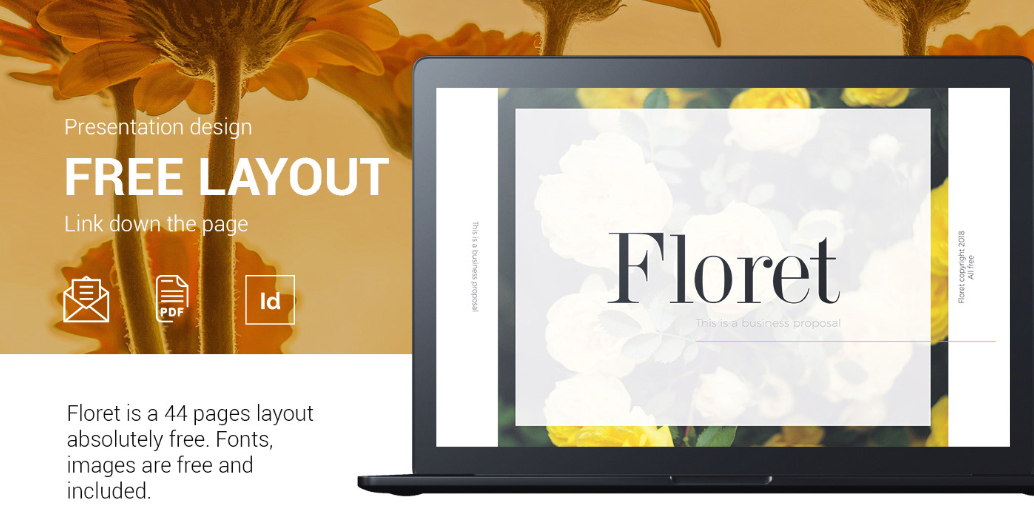 FLORET - Free Business Proposal Template.