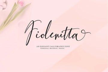 Fiolenitta Free Script Font