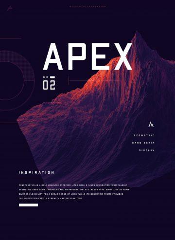 Free Apex MK2 Sans Serif Font