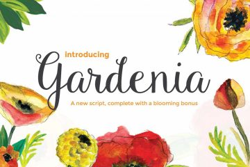 Free Gardenia Script Font