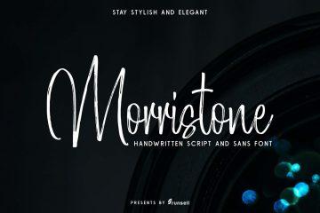 Free Mortistone Script Font
